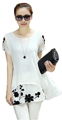 Kurti({Vidhi Enterprise White Color Embroidery Work Short Women\'s Top})