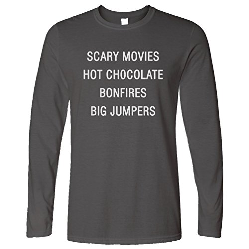 rt Scary Movies Hot Chocolate Bonfires Big Jumpers Herbst (Rösten Marshmallows)