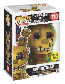 Five Nights At Freddy's Springtrap (Glow in the Dark) - Vinyl Figure 110 Sammelfigur Standard