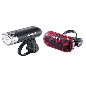 CatEye EL130/TL135 Omni 3 Cycling Lights and Reflectors - Black