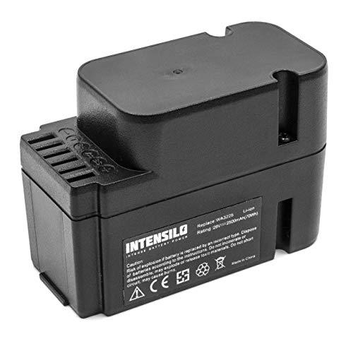 INTENSILO Akku passend für Worx Landroid M800 WG790E.1 Mähroboter Rasenroboter ersetzt WA3225, WA3565 - (Li-Ion, 2500mAh, 28V) - Ersatzakku Batterie