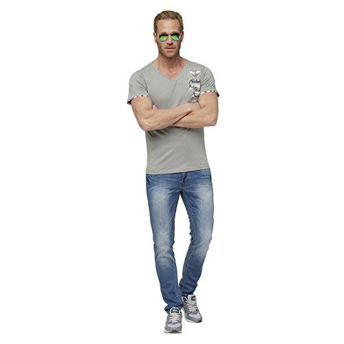 Nebulus T-Shirt BLUE PEARL hellgrau