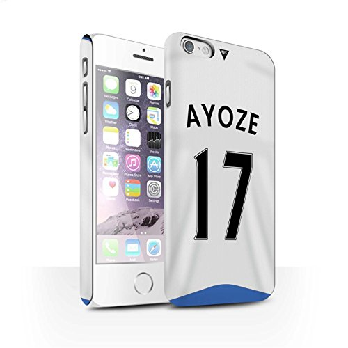 Offiziell Newcastle United FC Hülle / Matte Snap-On Case für Apple iPhone 6S / Pack 29pcs Muster / NUFC Trikot Home 15/16 Kollektion Ayoze