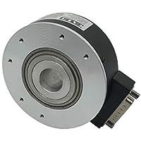 CALT 80 mm exterior 30 mm hueco eje elevador codificador DC5V línea de salida del conductor óptico aumento de codificador rotatorio