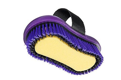 HIPPO-TONIC Kit de pansage ?Pro 3? L 28 x l 18 x h 23 cm Violet
