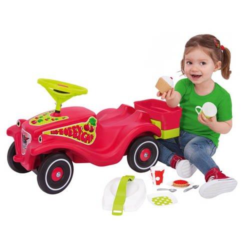 BIG Bobby Car Classic Cherry Girl - Kinderrutscher Kinderfahrzeug Rutschfahrzeug - 2