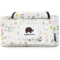 UCTOP Store - Bolsa de almacenamiento para cochecito de bebé, lona de dibujos animados, bolsa de almacenamiento para cochecito de bebé, cochecito de bebé, cochecito, bolsa organizadora de transporte para colgar bolsa accesorios