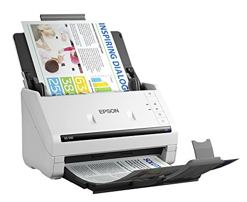 Price comparison product image Epson DS-530 Document Scanner: 35ppm, TWAIN & ISIS Drivers