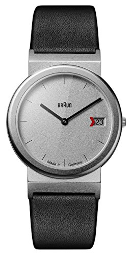 BRAUN Orologio Analogico Quarzo Unisex con Cinturino in Pelle AW50 Return of AN Icon