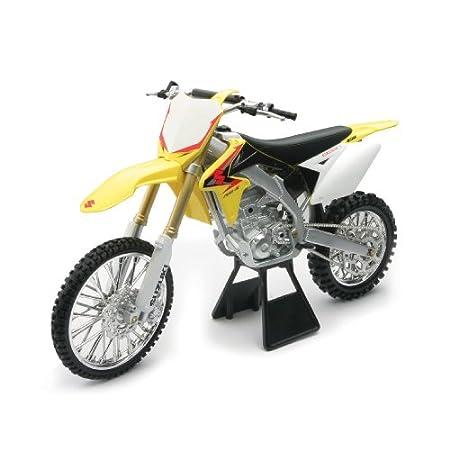 MINIATUR 1:6 Modell Motocross Suzuki