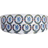 1m x 22mm CHELSEA FOOTBALL CLUB RIBBON FOR CAKE'S BIRTHDAY CAKES GIFT WRAP WRAPPING RIBBON HAIR BOWS CARDS CRAFT