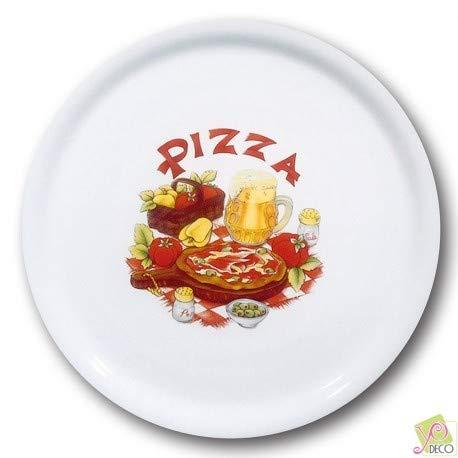 Lot de 6 assiettes à pizza Bari - D 31 cm - Napoli