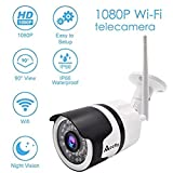 Accfly Outdoor IP Camera Full HD 960P WiFi Wireless Security Camera IP66 Waterproof