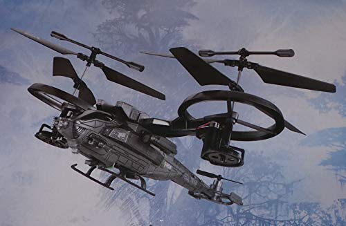 Ferngesteuerter Kampfhubschrauber AT-99 Scorpion mit Doppel-Rotor, 4 Kanal
