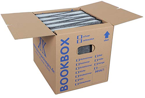 10 Stück Bücherkartons Profi Qualität - 7