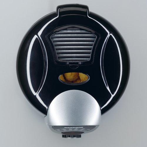 Severin FR 2408 Mini-Fritteuse mit Fondue, schwarz-silber / Behälter 950 ml Inhalt / Frittiermenge 200 g / 840 W - 6