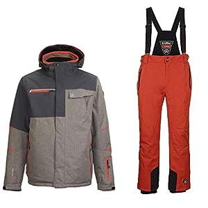 Killtec Skianzug für Herren aus Wasserdichtem und Winddichtem Material
