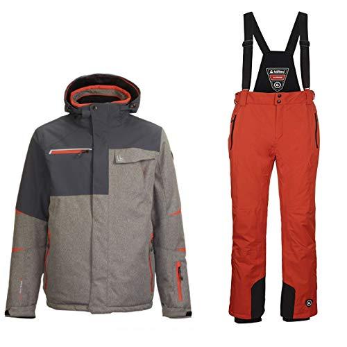 Killtec Skianzug für Herren aus Wasserdichtem und Winddichtem Material, Größe:XXL