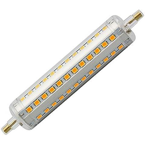 Bombilla LED R7S Slim 118mm 10W Blanco Frío 6000K efectoLED