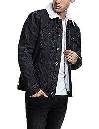 Urban Classic Sherpa Denim Jacket, Veste en Jean Homme