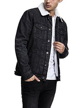 Urban Classics Sherpa Denim Jacket, Chaqueta para Hombre