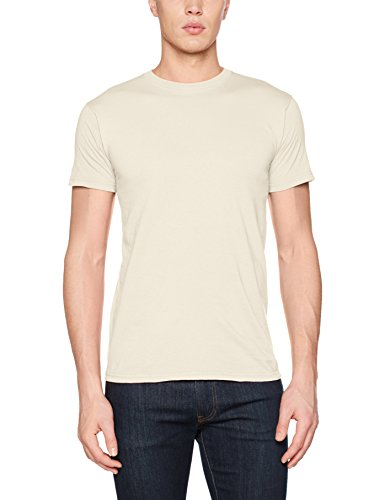 Fruit of the Loom Herren T-Shirt Mens Valueweight Off-White (Natural)