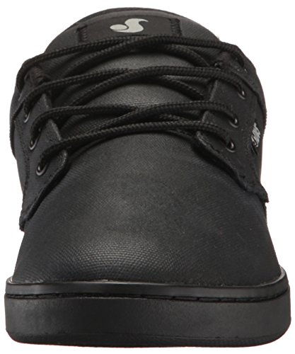 DVS Shoes Celsius, Scarpe da Skateboard da Uomo Black Waxed Canvas