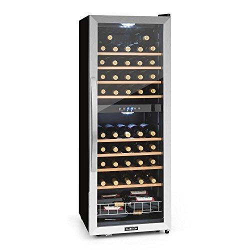 Klarstein Vinamour 54D • Nevera para vinos • Nevera para Bebidas •...