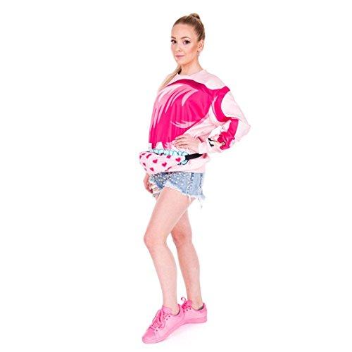 BZLine® Unisex Sport Wandern Running Gürtel Taille Tasche Pouch Zipper Fanny Pack Taschen F