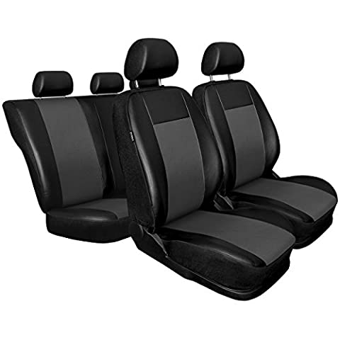CM-G Universal Car Seat Covers Set - eco leather - 5902538300704