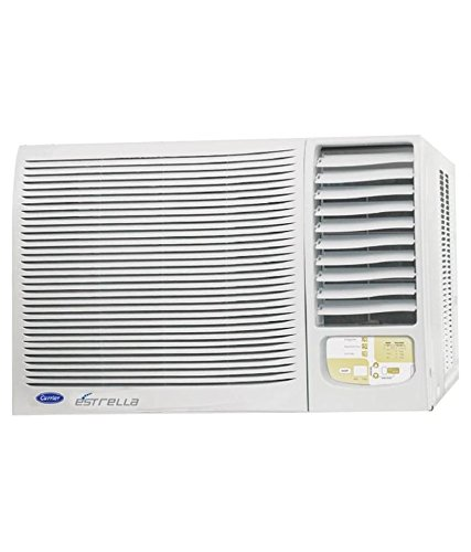 Carrier 1.5 Ton 5 Star Window AC (Copper Condensor, ESTRELLA, White)