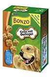 Bonzo Hundekuchen Geflügel-Cräx Snack für übergewichtige Hunde 500 Gramm