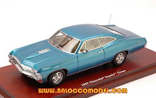 true-scale-miniatures-tsm134313-chevrolet-impala-coupe-1967-metallic-blue-143