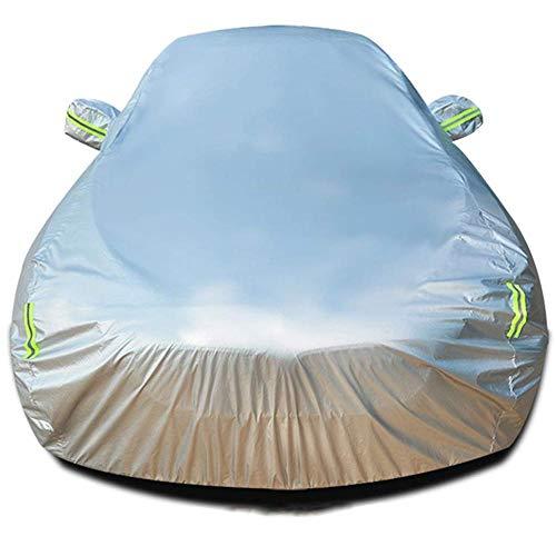 Autoabdeckung Kompatibel Mit Der Wasserdichten Außenabdeckung Von Toyota Hilux,Silver-Single Cab