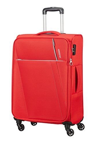 AMERICAN TOURISTER Joyride - Spinner 69/25 Expandable Equipaje de mano, 69 cm, 67 liters, Rojo (Flame Red)