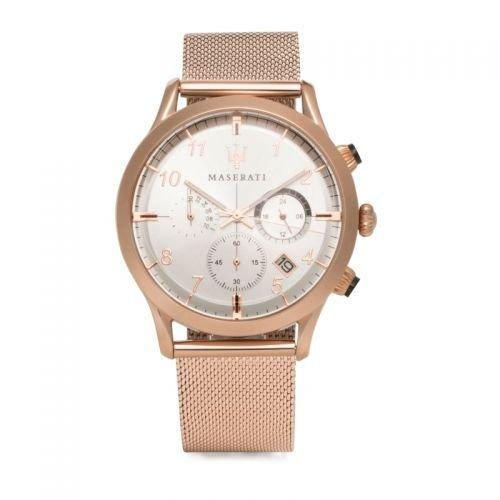 Maserati Original Mujer Reloj/Reloj de pulsera/Cronógrafo Ricordo Rose Gold
