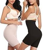 SLIMBELLE Culotte Gainante Invisible Femme Taille Haute Ventre Plat Shorty Sculptante...
