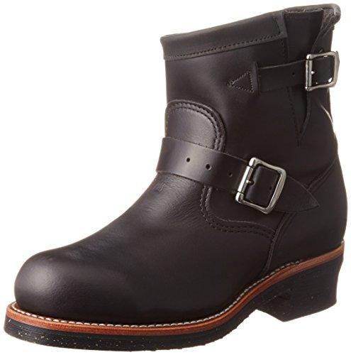 Chippewa 7' Whirlwind Steel Toe Engineer 1901M10 Black, Größe:US Men 8.5/EU 41.5