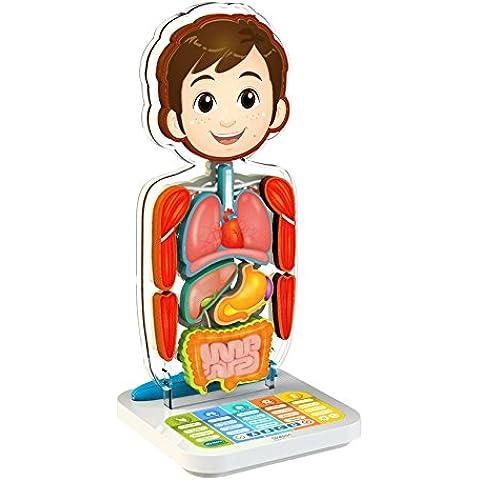 Oregon Scientific SA218 Cuerpo humano interactivo - Smart Anatomy