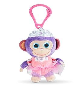 Joy Toy 31054 Wonderpark - Peluche de Mono Milagro con Clip (8 cm), diseño de Princesa