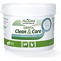 AniForte Denta Clean & CareEx - Polvo para eliminación de sarro 80g con fórmula mejorada - Producto natural para perros y gatos