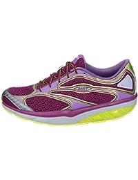 MBT Sneakers Mujer Textil púrpura