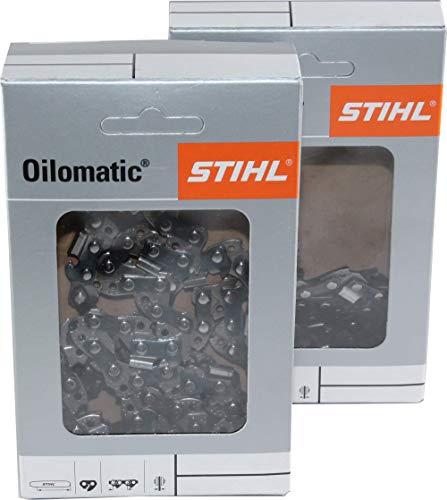 2 STIHL Sägeketten 3/8P-44E-1,3 Picco Micro 3 PM3 30cm für Stihl MS 170 180 190