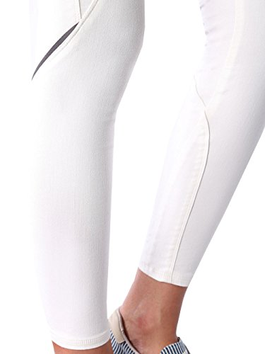 Diesel Actyvista 0672P Pantalons Jeans Femme Joggjeans White Blanc