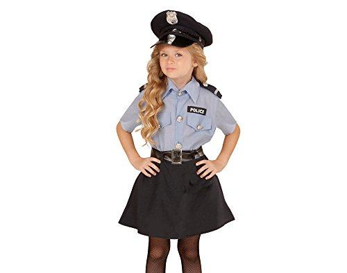 kostüm Polizei, 140 (Polizei-mädchen-kostüm)
