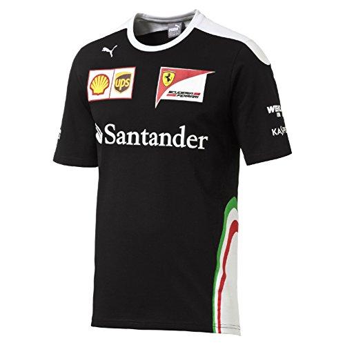 Puma Sf Team Camiseta de Manga Corta Para Hombre, Sf Team, negro, S