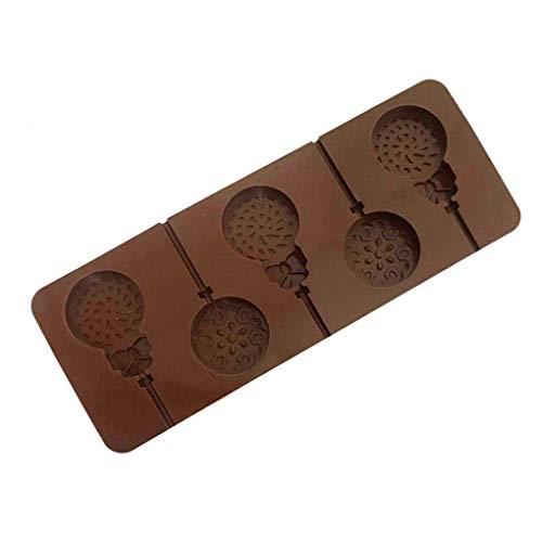 p Silikon-Form-Praline Zucker Jelloy Mold Ungiftiger Backwaren ()