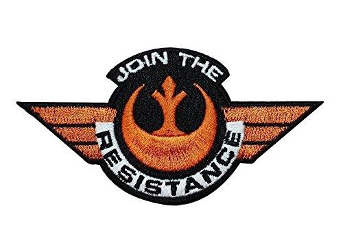 Parche Bordado Termoadhesivo Star Wars Join The Resistance