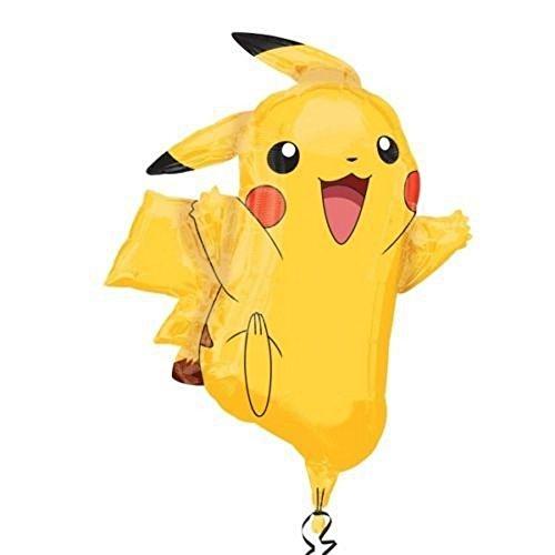 (Ballon Pokemon Pikachu xxl Helium)