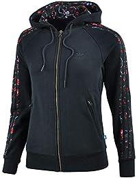 Adidas 3s Essentials Jacke Damen Sweatjacke grau pink XS | eBay